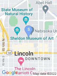 University of Nebraska Lincoln map