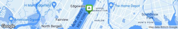 Map of Harlem's Floridita Restaurant