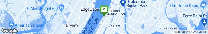 Map of Hudson River Cafe