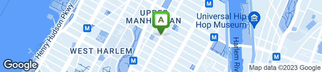 Map of Mama Tina's