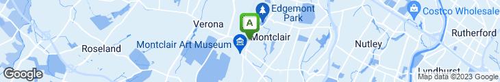 Map of Enzo Pizzeria Restaurant