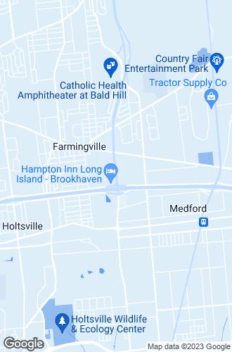 Map of Farmingville