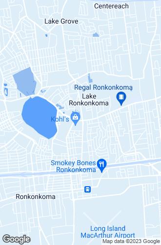 Map of Lake Ronkonkoma