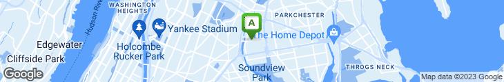 Map of New Pabellon De Oro