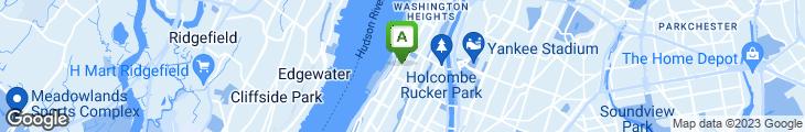Map of Broadway Finest Deli