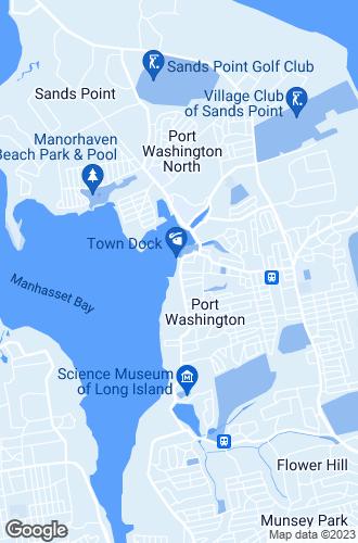 Map of Port Washington