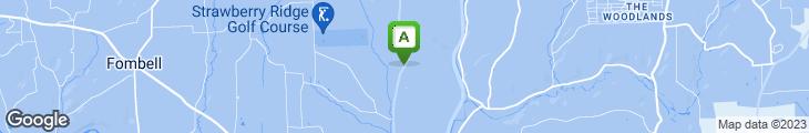 Map of Log Cabin Inn