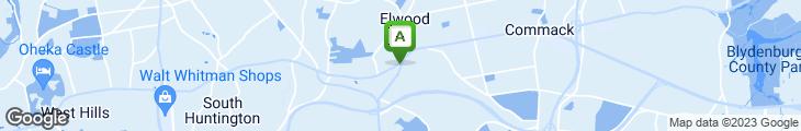 Map of Dix Hills Diner & Restaurant