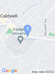 Caldwell College map