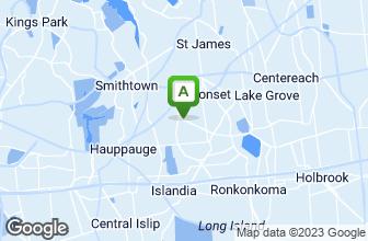 Map of Long Island Bagel Cafe - Nesconset