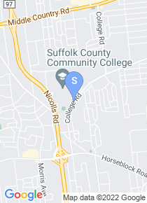 Suffolk County Community College map
