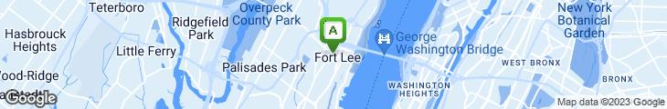 Map of Bing's Burgers and Binghamton Bagel Cafe