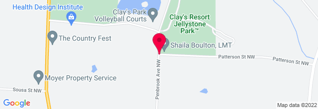 Map for Clay's Park Resort