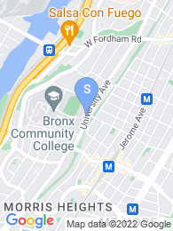 Bronx CC map