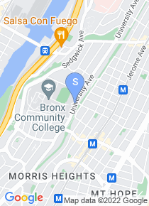 Bronx Community College map