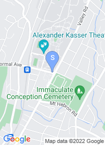Montclair State map
