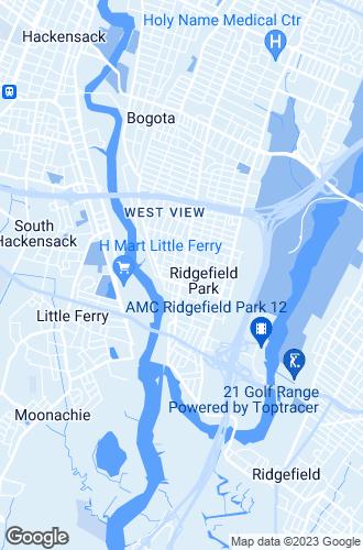 Map of Ridgefield Park