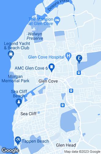 Map of Glen Cove