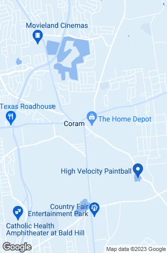 Map of Coram