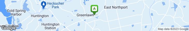 Map of Greenlawn Family Restaurant