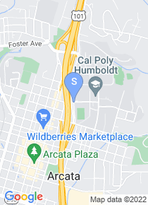 Humboldt State University map