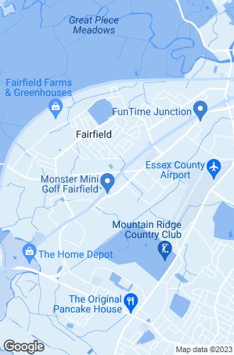 Map of Fairfield