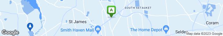 Map of Stony Brook Garden Deli