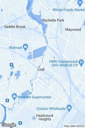 Map of Lodi