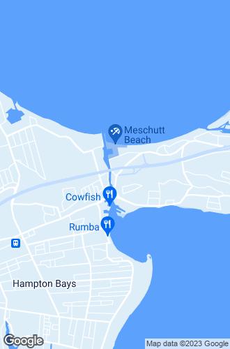 Map of Hampton Bays