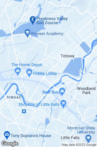 Map of Totowa