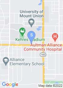 University of Mount Union map