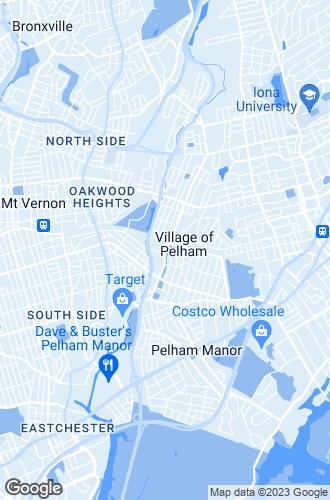 Map of Pelham