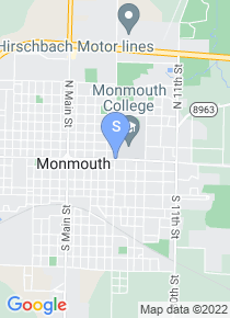 Monmouth College map