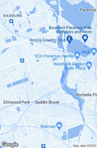 Map of Saddle Brook