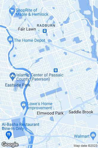 Map of Elmwood Park