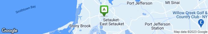 Map of Chung How Of East Setauket
