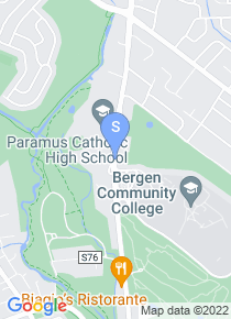 Bergen Community College map