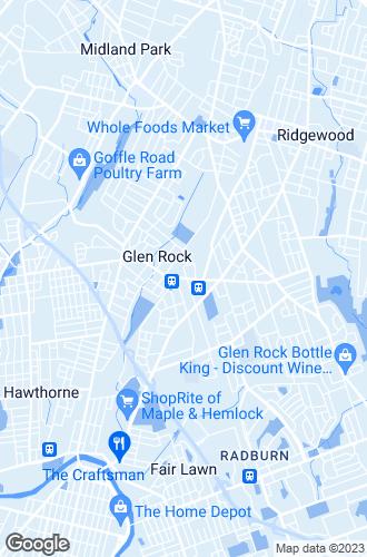 Map of Glen Rock