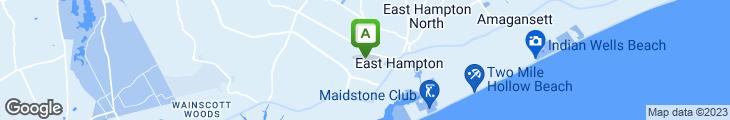 Map of Fresno Restaurant