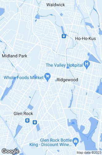 Map of Ridgewood