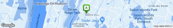 Map of Epstein's Kosher Delicatessen
