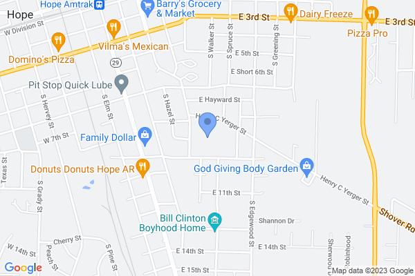 400 East 9th Street, Hope, AR 71801, USA
