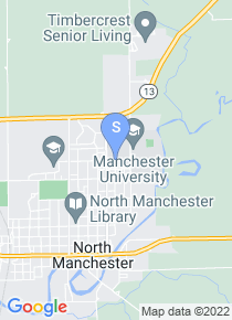 Manchester College map