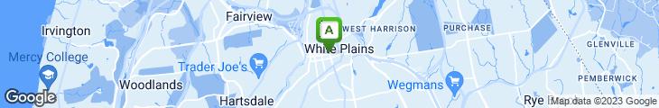 Map of White Plains Bistro
