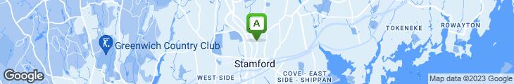 Map of Bedford Street Diner