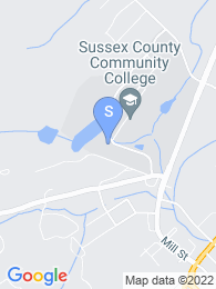 Sussex County Community College map