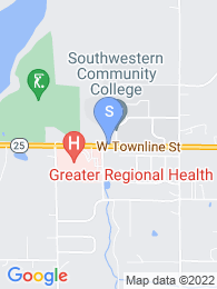 Southwestern Community College map