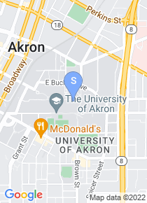 University of Akron map