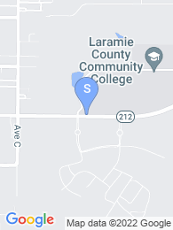 Laramie County Community College map