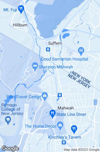 Map of Mahwah